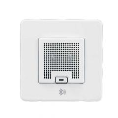 Knightsbridge SFBLUEMW 3W RMS Bluetooth Speaker Outlet Matt White