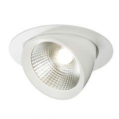 Knightsbridge WW40C 40W Round LED Recessed Adjustable Wallwasher