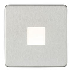 Knightsbridge SFPLBC LED Plinth Light Mains Brushed Chrome