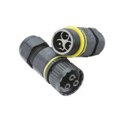 Knightsbridge JB0011 IP68 16A Weatherproof Plug and Socket Connector