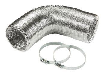 "Knightsbridge EX4DUCT 3 Meter Aluminium Ducting Kit 4"" 100mm"