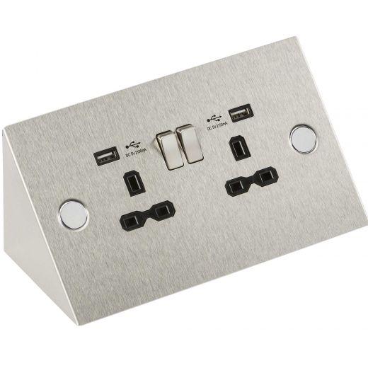 Buy Pop Up Sockets, Under Cabinet Sockets & USB Cabinet Sockets | PEC Lights