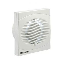 "Manrose Intervent BVF100T 4"" Square Extractor Fan Timer"