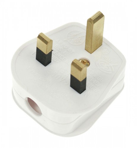 Domestic 13A Plug Tops & 3 Way Adaptors to buy | PEC