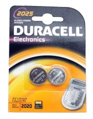 2025 Electronic Coin Cell Batteries - 2 Pack