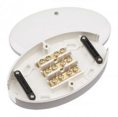 Scolmore Click WA220 3 Way 60 Amp Junction Box White