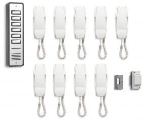 Bell System 909 9 Way Audio Door Entry Kit