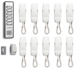 Bell System 910 10 Way Audio Door Entry Kit