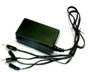 A Data 4 Way 12V DC Power Supply Unit