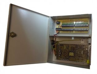 A Data 18 Port 20 Amp 12V Power Supply Unit