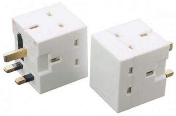 2 Way 13A Fused Adaptor