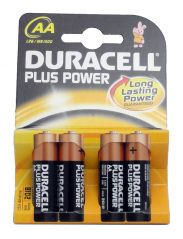 AA Plus Power Batteries - 4 Pack