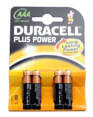 AAA Plus Power Batteries - 4 Pack