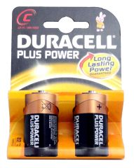 C Plus Power Batteries - 2 Pack