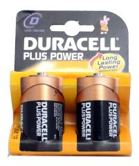 D Plus Power Batteries - 2 Pack