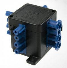 CT300 250V 20A 4 Pin (1 in 3 Out) Flow Hub Junction Box