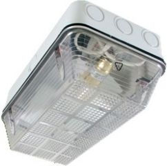 Eterna BH100DWH Polycarbonate IP65 Bulkhead - White