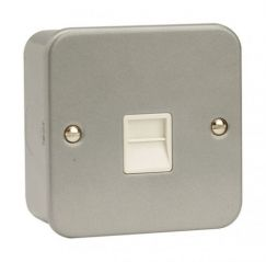 CL120 1 Gang Master Telephone Socket Outlet