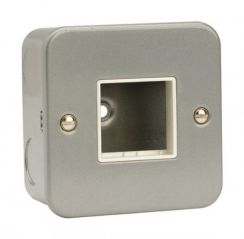 CL402 1 Gang Switch Plate - 2 Aperture