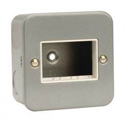CL403 1 Gang Switch Plate - 3 Aperture