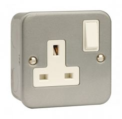 CL035 1 Gang 13A DP Switched Socket Outlet
