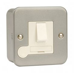 CL051 13A Fused Connection Unit DP Switched With Optional Flex Outlet