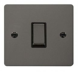 Scolmore Click Define FPBN425BK Ingot 10AX 1 Gang Intermediate Switch