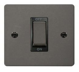 Scolmore Click Define FPBN500BK 1 Gang Ingot 45A DP Switch