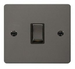 Scolmore Click Define FPBN722BK Ingot 20A 1 Gang DP Switch