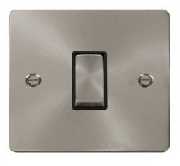Scolmore Click Define FPBS425BK Ingot 10AX 1 Gang Intermediate Switch - Black