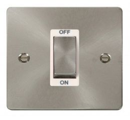 Scolmore Click Define FPBS500WH 1 Gang 45A Ingot DP Switch - White