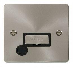 Scolmore Click Define FPBS550BK Ingot 13A Connection Unit + Flex Outlet - Black
