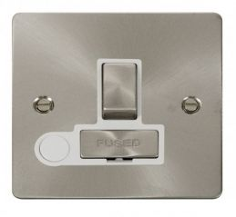 Scolmore Click Define FPBS551WH Ingot 13A Switched Connection Unit + Flex Outlet - White