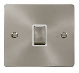 Scolmore Click Define FPBS722WH Ingot 20A 1 Gang DP Switch - White