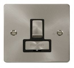 Scolmore Click Define FPBS751BK Ingot 13A Switched Connection Unit - Black