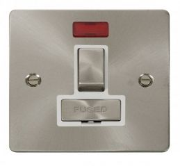 Scolmore Click Define FPBS752WH Ingot 13A Switched Connection Unit + Neon - White