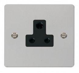 Scolmore Click Define FPCH038BK 5A Round Pin Socket Outlet - Black