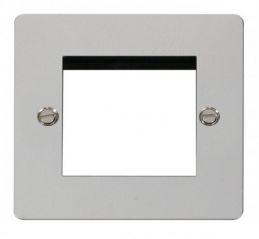 Scolmore Click Define FPCH311 1 Gang Twin Media Module Aperture