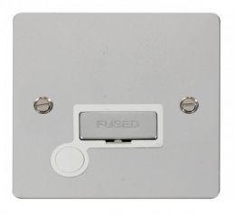 Scolmore Click Define FPCH550WH Ingot 13A Connection Unit + Flex Outlet - White