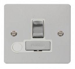Scolmore Click Define FPCH551WH Ingot 13A Switched Connection Unit + Flex Outlet - White