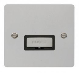 Scolmore Click Define FPCH750BK Ingot 13A Connection Unit - Black