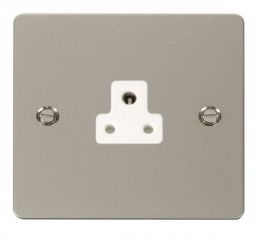 Scolmore Click Define FPPN039WH 2A Round Pin Socket Outlet - White