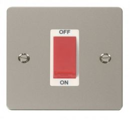 Scolmore Click Define FPPN200WH 1 Gang 45A DP Switch - White