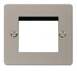 Scolmore Click Define FPPN311 1 Gang Twin Media Module Aperture