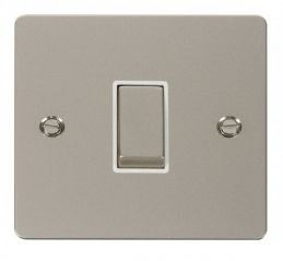 Scolmore Click Define FPPN411WH Ingot 10AX 1 Gang 2 Way Switch - White