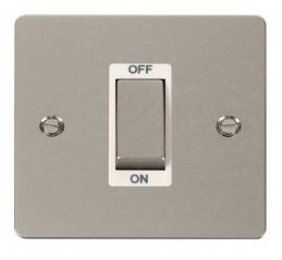 Scolmore Click Define FPPN500WH 1 Gang 45A Ingot DP Switch - White