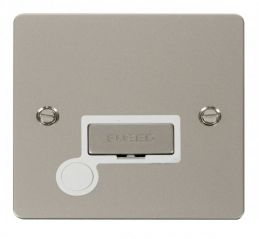 Scolmore Click Define FPPN550WH Ingot 13A Connection Unit + Flex Outlet - White