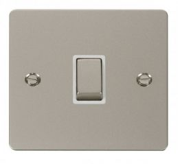 Scolmore Click Define FPPN722WH Ingot 20A 1 Gang DP Switch - White