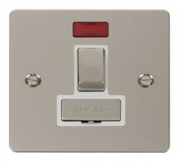 Scolmore Click Define FPPN752WH Ingot 13A Switched Connection Unit + Neon - White