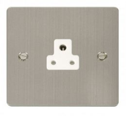 Scolmore Click Define FPSS039WH 2A Round Pin Socket Outlet - White
